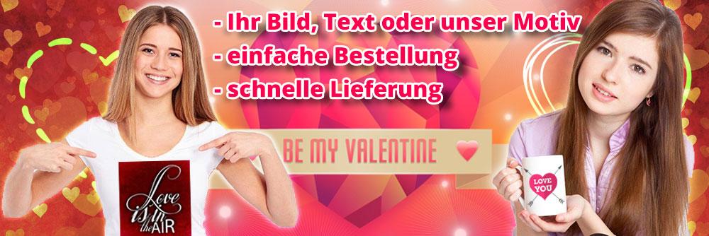 Banner Valentinstag